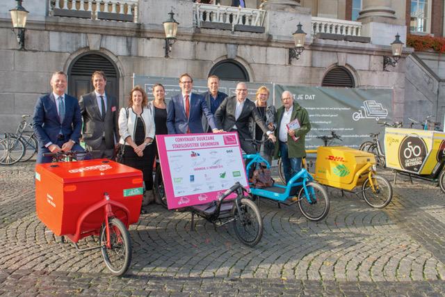 Convenant duurzame stadslogistiek ondertekend!