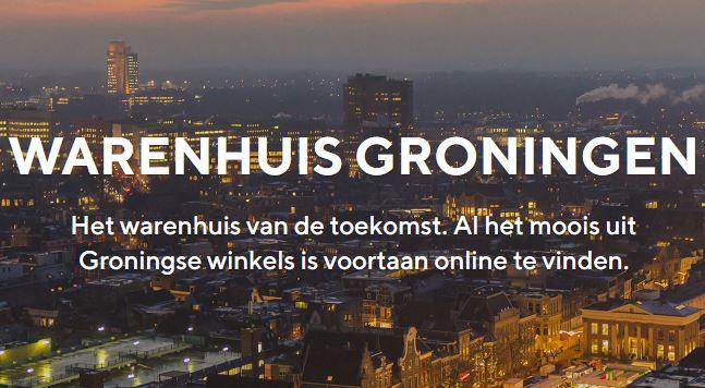 Warenhuis Groningen van start